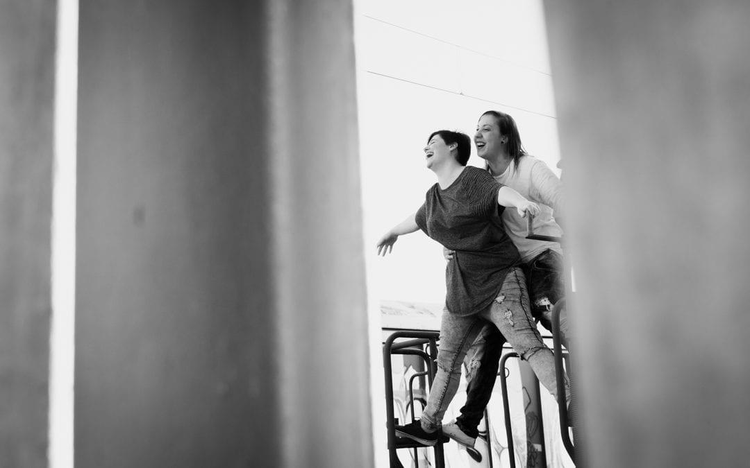 Cristina y Diana – Aranjuez