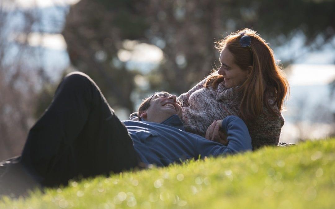 Virginia y Miguel (Parque del Capricho)