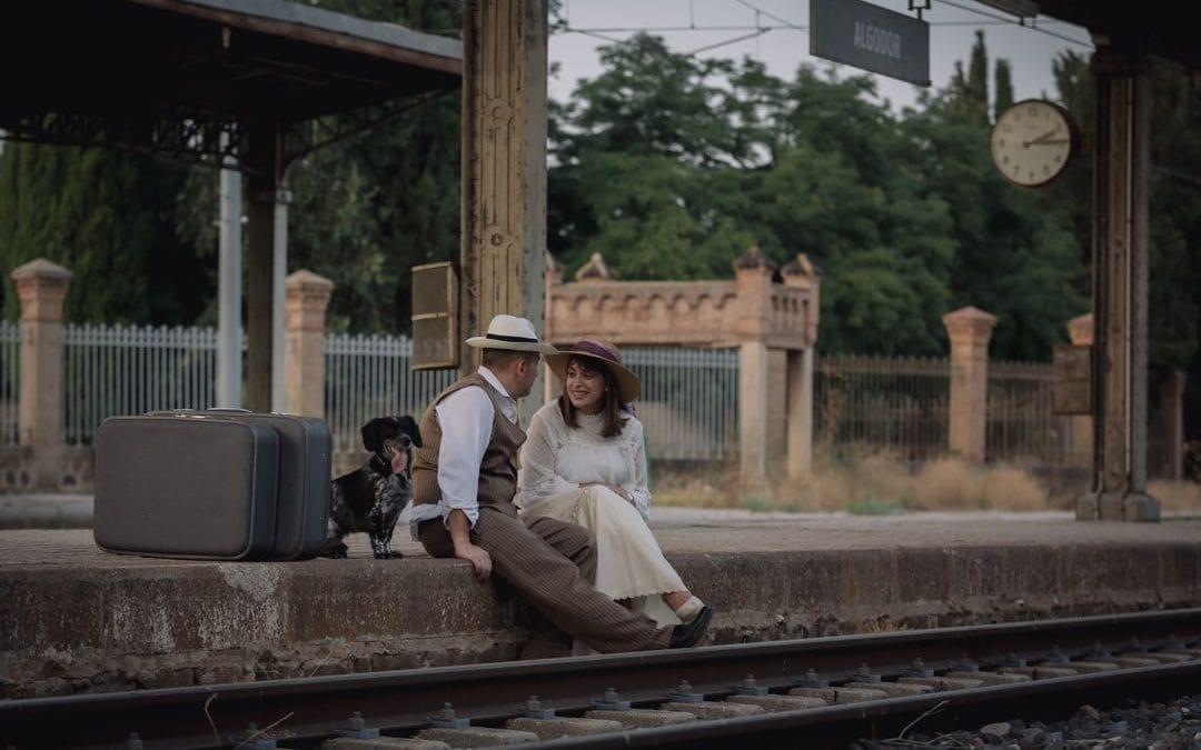 Marisa y Uge (Estación de Algodor)